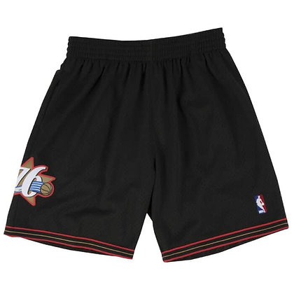 Men's Philadelphia 76ers 00-01Road HWC Mitchell & Ness Swingman Shorts