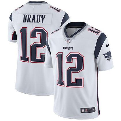 Men's New England Patriots Tom Brady Nike White Limited Jersey