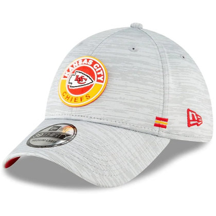Kansas City Chiefs New Era 2020 Official Road Sideline 39THIRTY Stretch F