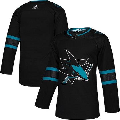 Men's San Jose Sharks adidas NHL Authentic Alternate Jersey