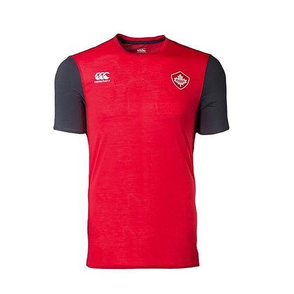 Men's Rugby Canada Canterbury VapoDri +Poly Elite T-Shirt