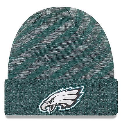 Philadelphia Eagles New Era 2018 NFL Sideline Cold Weather TD Knit Hat