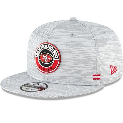 San Francisco 49ers New Era Sideline Black 2020 NFL 9FIFTY Snapback