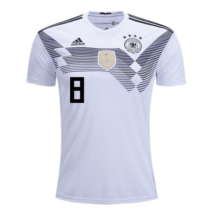 free shipping 210c9 c9217 Men's Germany Toni Kroos Home / Away adidas World Cup 2018 Jersey |  VancitysportsShop