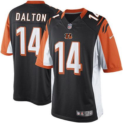 Men's Cincinnati Bengals Andy Dalton Nike Black Limited Jersey
