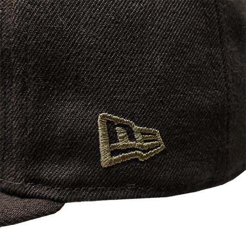 bda65af0580 Seattle Seahawks Metal Camou Logo New Era Black 59FIFTY Fitted Hat