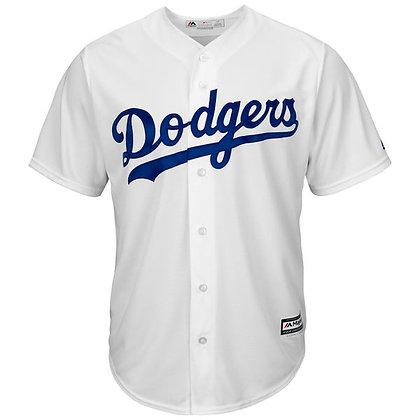 Men's LA Dodgers Majestic White Home Cool Base Jersey
