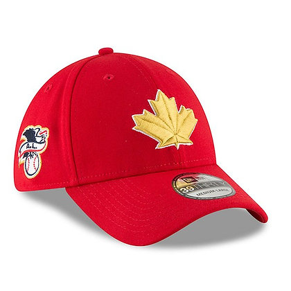 Toronto Blue Jays New Era 2018 4th July Collection 39THIRTY Flex Hat