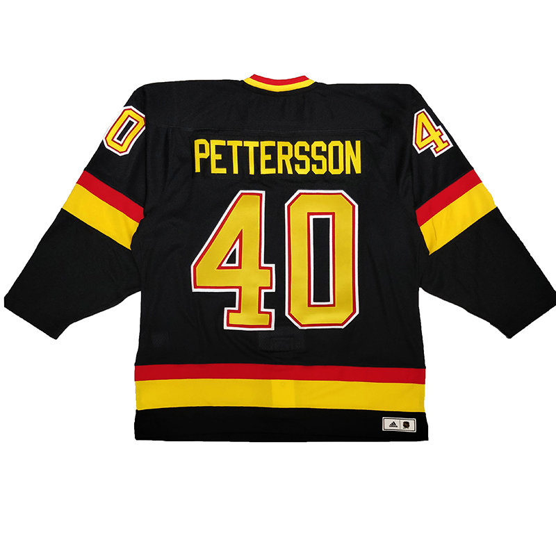new style c8818 a3bdb Men's Vancouver Canucks Flying Skate Pettersson Team Classics adidas Auth  Jersey
