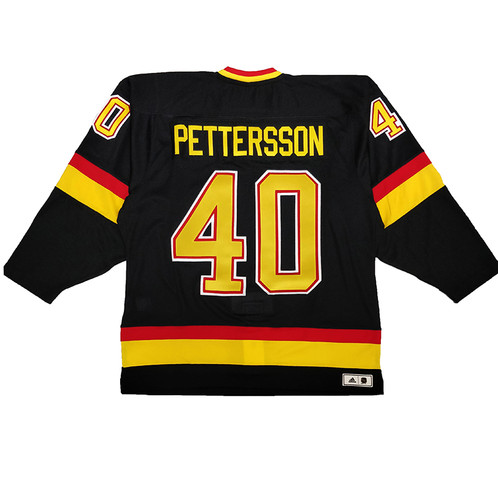 56e50a1dc Men's Vancouver Canucks Flying Skate Elias Pettersson Team Classics adidas  Authentic Jersey