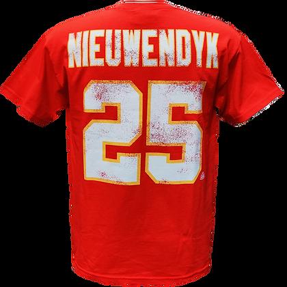 Men's Calgary Flames Joe Nieuwendyk #25 OTH Alumni Red T-shirt
