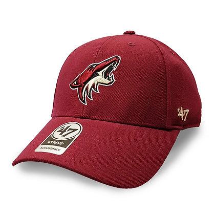 Arizona Coyotes '47 Brand MVP Adjustable Hat