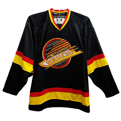 Men's Vancouver Canucks Flying Skate Team Classics adidas Authentic Jersey