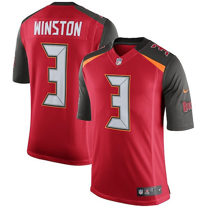 Men's Tampa Bay Buccaneers Jameis Winston Nike Red Limited Jersey