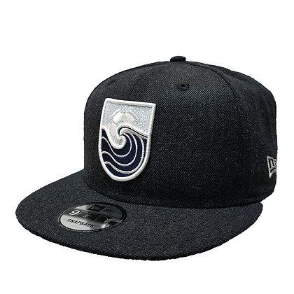 "Men's Vancouver Whitecaps New Era ""The Village"" Heather Blue 9FIFTY Snapback Hat"