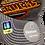 Thumbnail: Men's Vancouver Canucks Grey Reebok Front/Back Skate Logo Flex Hat