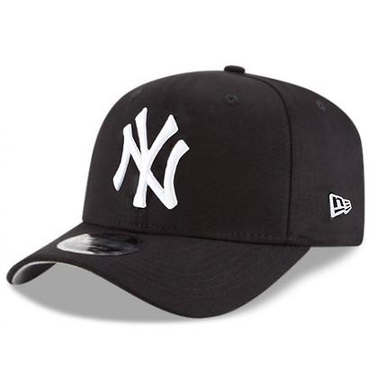 Men's New Era NY Yankees White Stretch 9FIFTY Snapback Adjustable