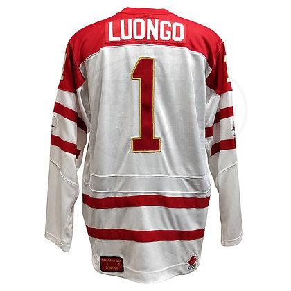 Men's Team Canada Vancouver 2010 Roberto Luongo Nike Jersey