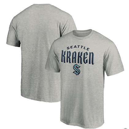 T-shirts New Seattle Kraken Hockey Team Grey
