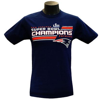 Men's New England Patriots Super Bowl LIII Champions Fanatics T-Shirt