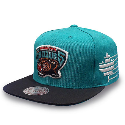 Vancouver Grizzlies Mitchell and Ness Racers Snapback