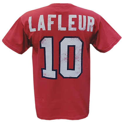 Men's Montreal Canadiens  Guy Lafleur #10 OTH Alumni Pale Red T-shirt