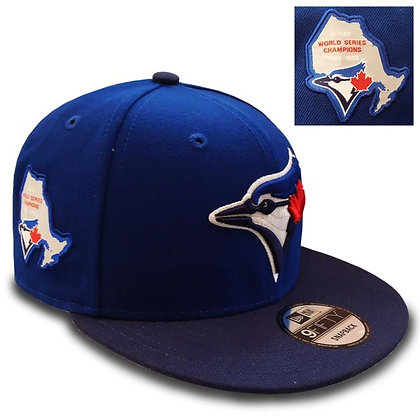 Men's Toronto Blue Jays New Era Side Stated 9FIFTY Snapback hat