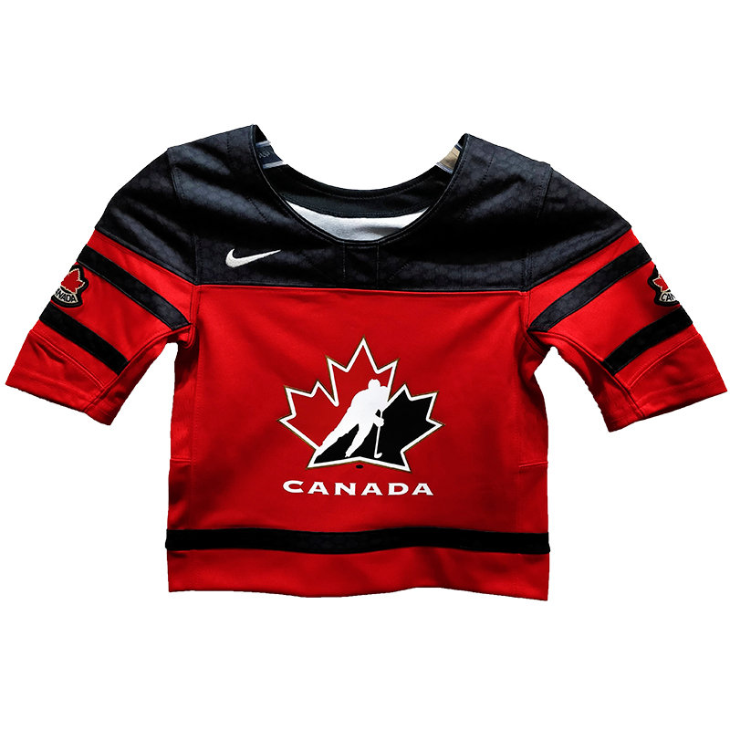 new arrival 49b67 2a2d9 Infant Toddler Team Canada 2019 IIHF World Junior Champ. Replica Red Jersey