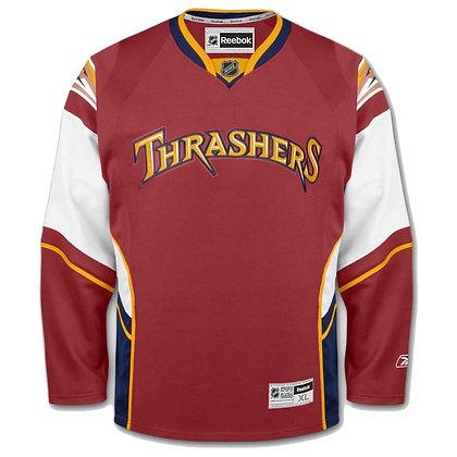 Men's Atlanta Thrashers Reebok Premier Replica Alternate NHL Hockey Jersey