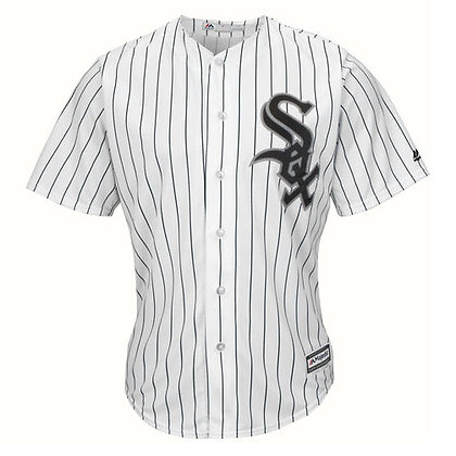 Men's Chicago White Sox Majestic White Home Cool Base Team Jersey