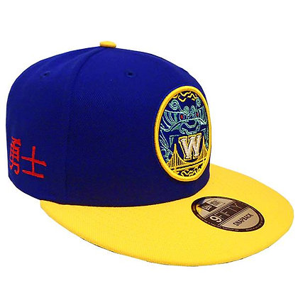Men's Golden State Warriors Mitchell and Ness Limited Chinese Edition Snapback