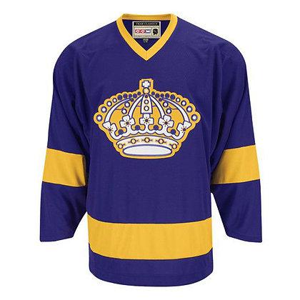 Men's LA Kings CCM Vintage Replica Purple Jersey