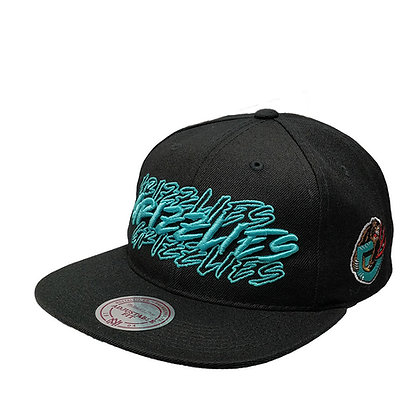 Men's Vancouver Grizzlies Green Script Adjustable Fit Hat