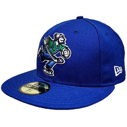 Men's Vancouver Canucks Full Body Johnny Canuck Royal Blue 59FIFTY Fitted Hat