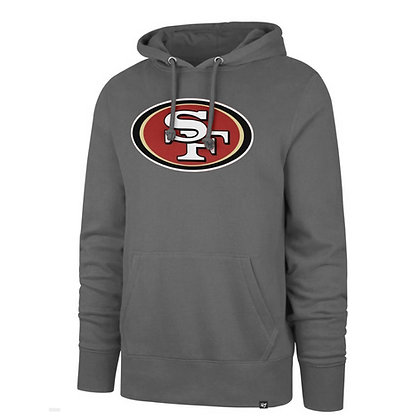 Men's San Francisco 49ers Touchdown '47 Brand Grey Fleece Hoodie
