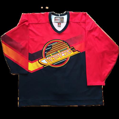 Men's Vancouver Canucks alternate jersey Warren from 1995 to 1997 CCM