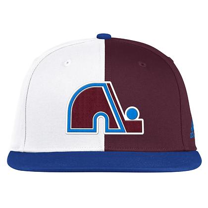 Men's Colorado Avalanche Adidas 2020/21 Reverse Retro Snapback Adjustable Hat
