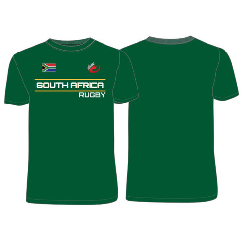 be9a123bf68 Men's Team South Africa World Rugby T-Shirt