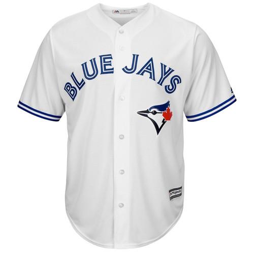 Men's Toronto Blue Jays Majestic White Home Cool Base Jersey