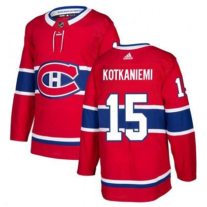 Men's Montreal Canadiens Jesperi Kotkaniemi adidas NHL Authentic Pro Home Jerse
