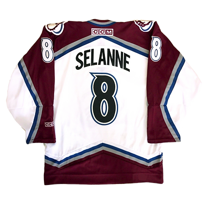 Men's Colorado Avalanche - Selanne 8 CCM Jersey