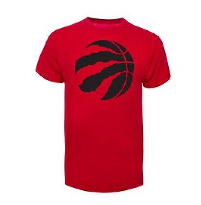 Men's Torornto Raptors '47 Brand Red Big Logo T-Shirt