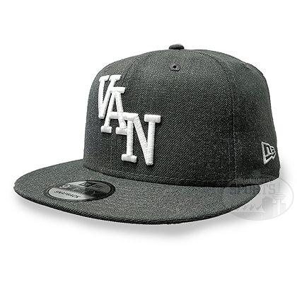 "Men's Vancouver Canucks ""VAN"" New Era Light Grey 9FIFTY Snapback"