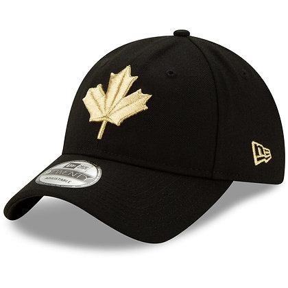 New Era Toronto Raptors Black 2019/20 City Edition 9TWENTY Adjustable Hat