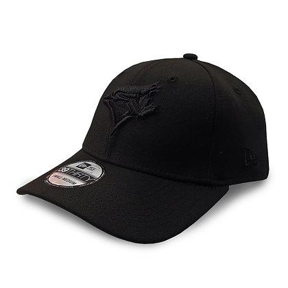 Men's Toronto Blue Jays New Era ALL Black 39THIRTY Flex Hat