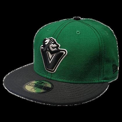 Men's Johnny V Canucks Green/ Black 59FIFTY Fitted Hat