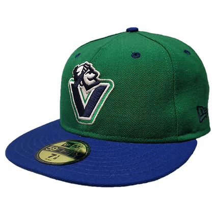 Men's Johnny V Canucks Green/ Blue 59FIFTY Fitted Hat