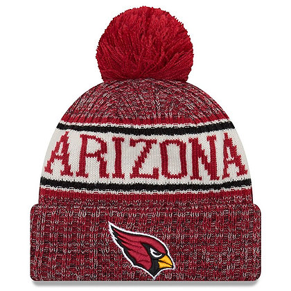 Men's Arizona Cardinals New Era 2018 Sideline Official Sport Knit hat