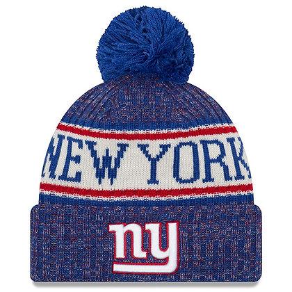Men's New York Giants New Era 2018 Sideline Official Sport Knit hat