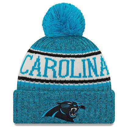 Men's  Carolina Panthers  New Era 2018 Sideline Official Sport Knit hat